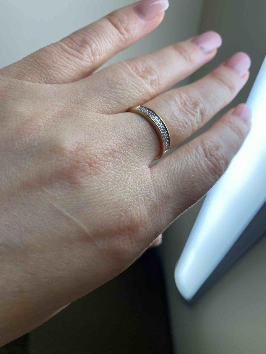 Красивое кольцо для повседневной носки