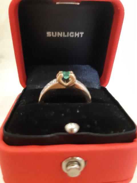 Очень симпатичное, статусное кольцо!