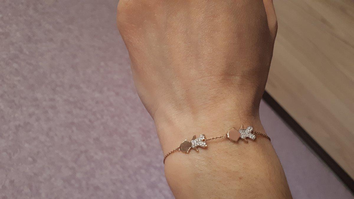 Аккуратный миниатюрный браслет