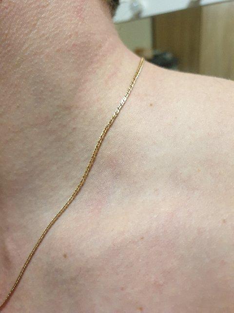 Золотая цепочка 55 см.