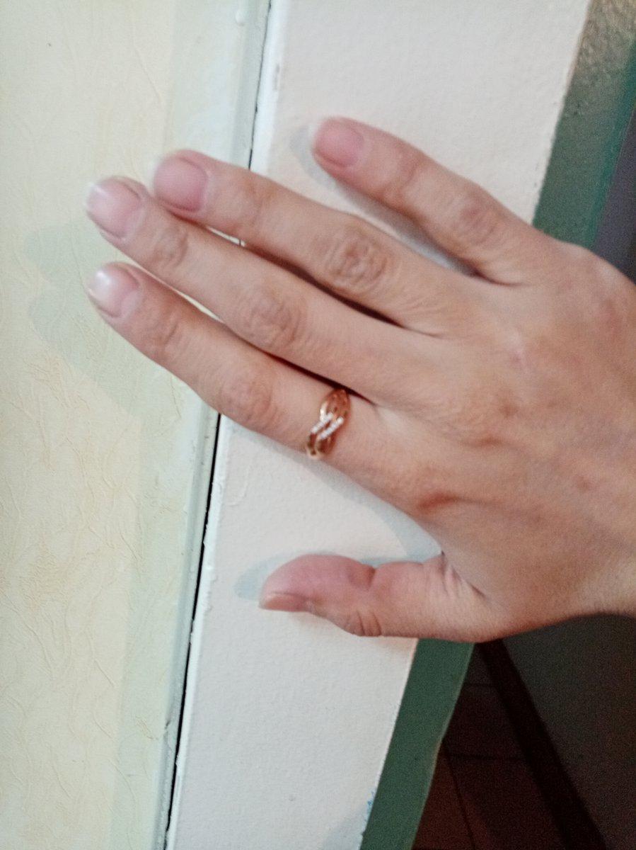 Кольцо подарок от брата.