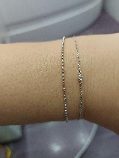Очень нежный, изящный браслет!