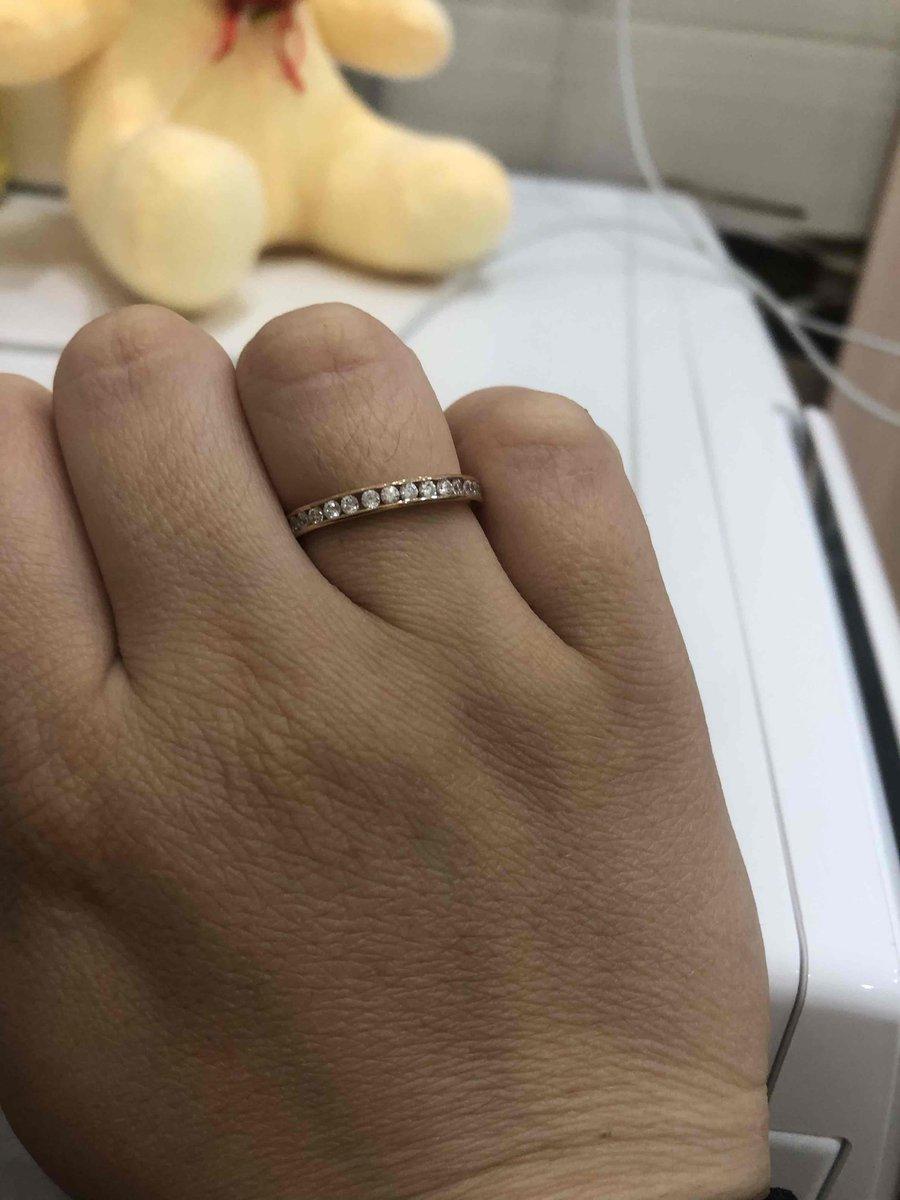Покупала себе кольцо