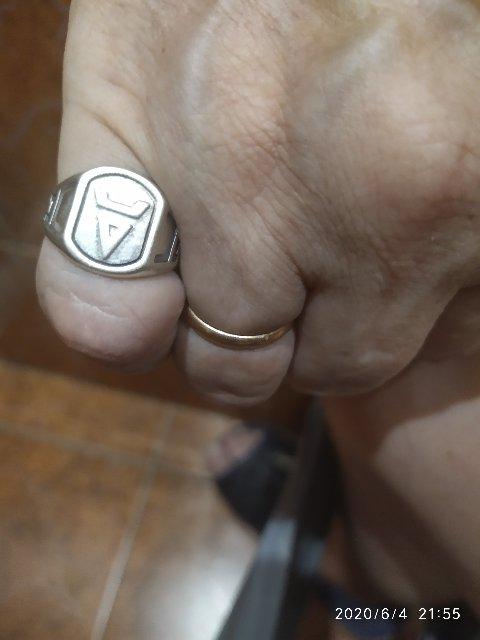 """Серебряное кольцо """"Символ Велеса"""""""