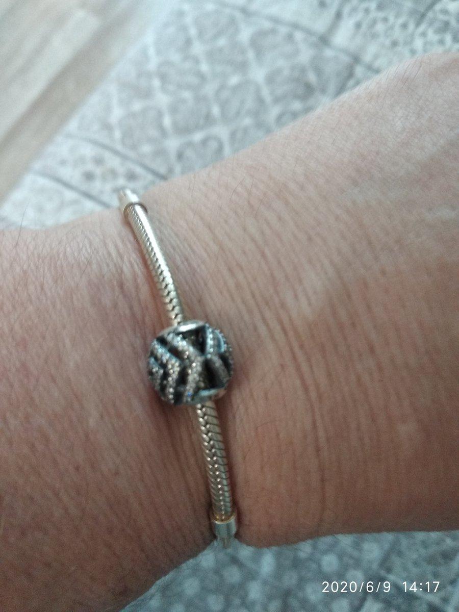 Полвеска-шарм, серебро