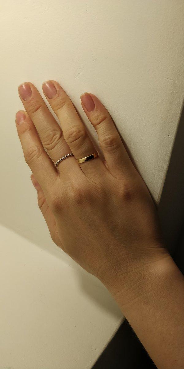 Кольцо из серебра без вставок