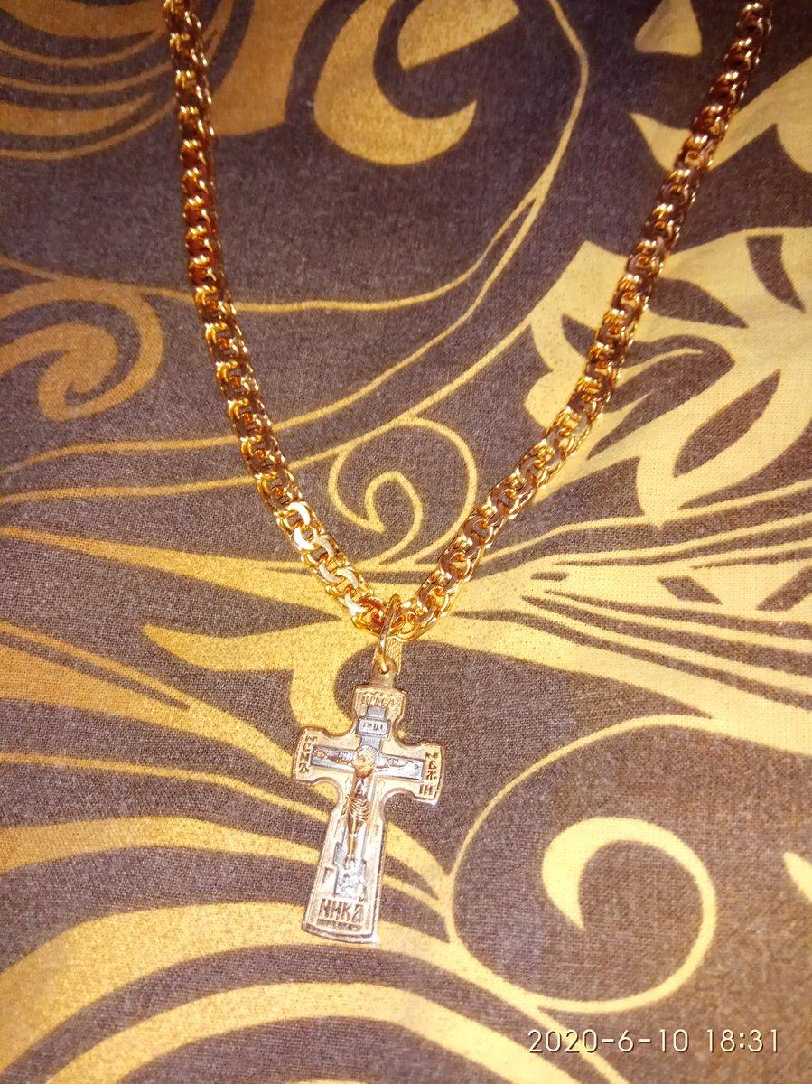 Купил красивый крестик