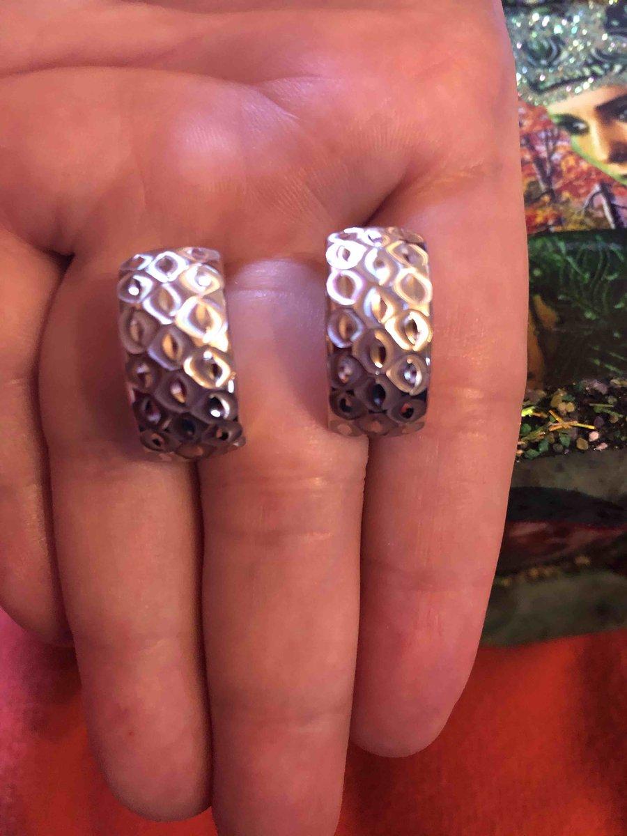 Замечательные серебрянные серьги!