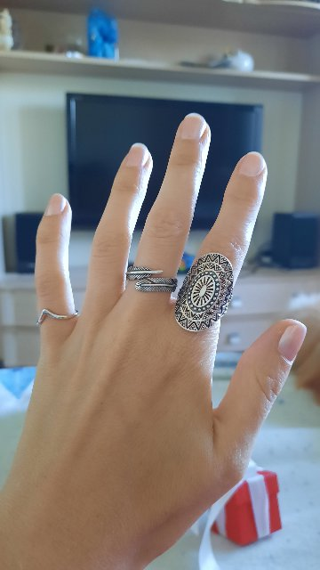 Потрясающее бохо кольцо!