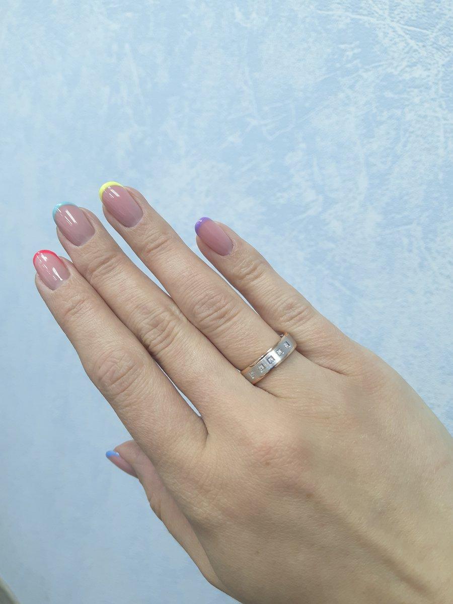 Обручальное кольцо, размер 16