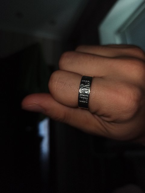 Кольцо хорошее, но доставка подвела