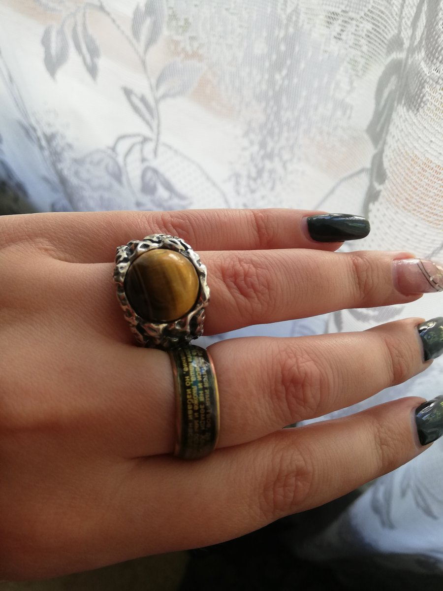 Кольцо супер размер подошел