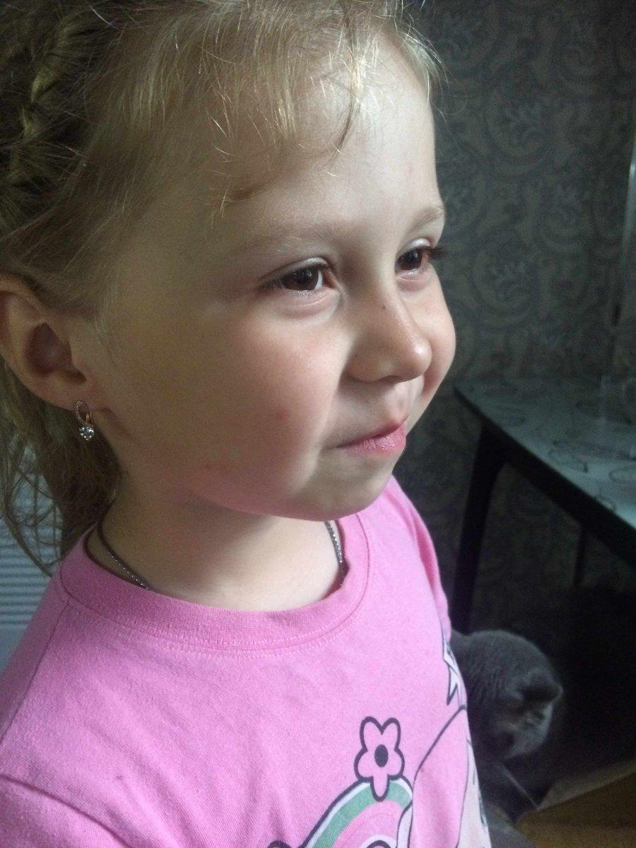 Сережки для дочки 6 лет.