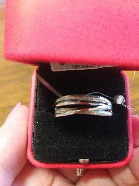 Золотое кольцо с бриллиатами