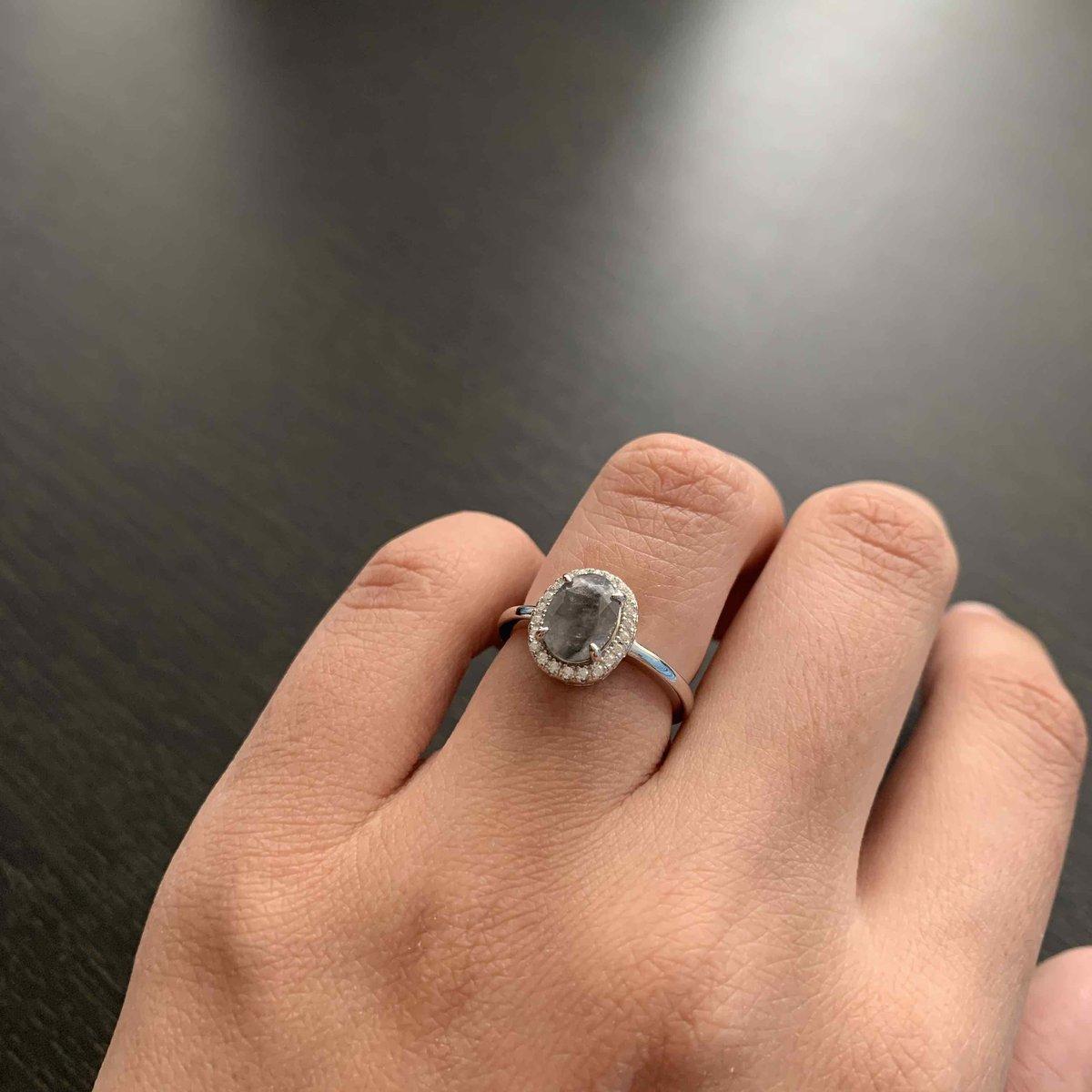 Изящное повседневное кольцо