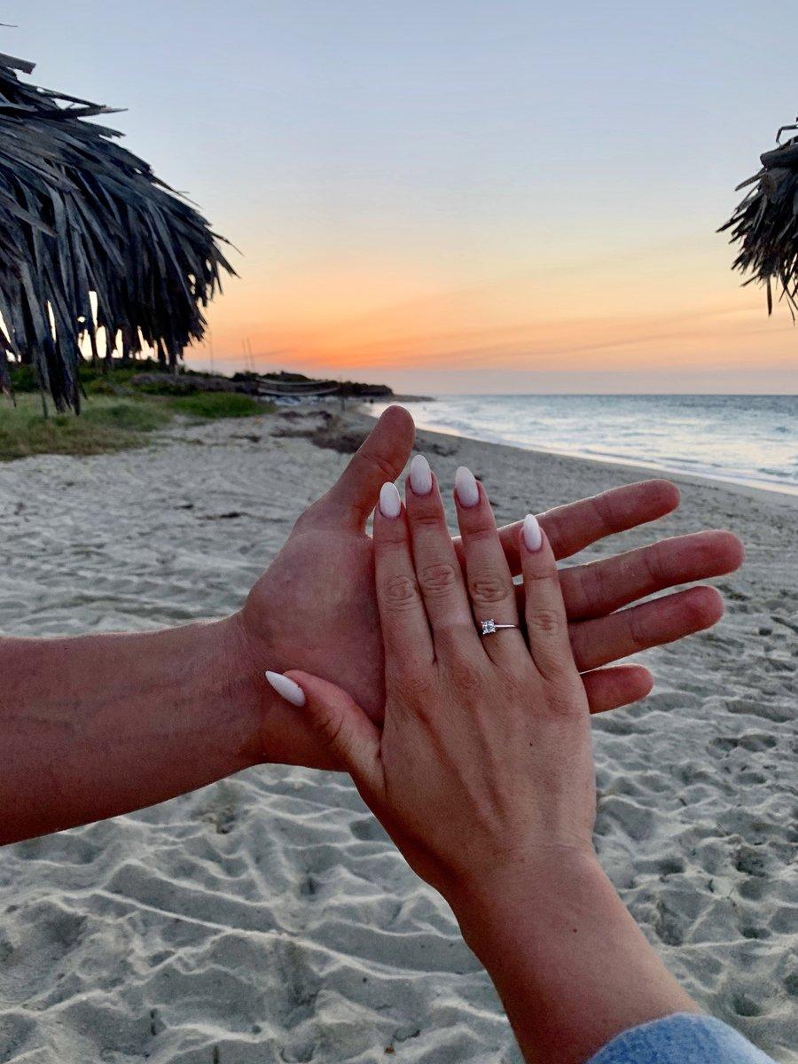 Кольцо для помолвки.