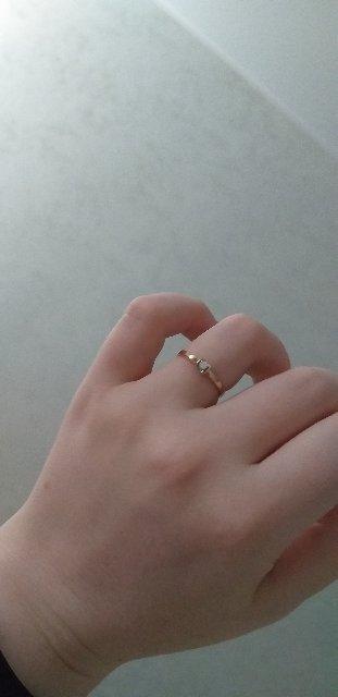 Изящное, нежное кольцо)