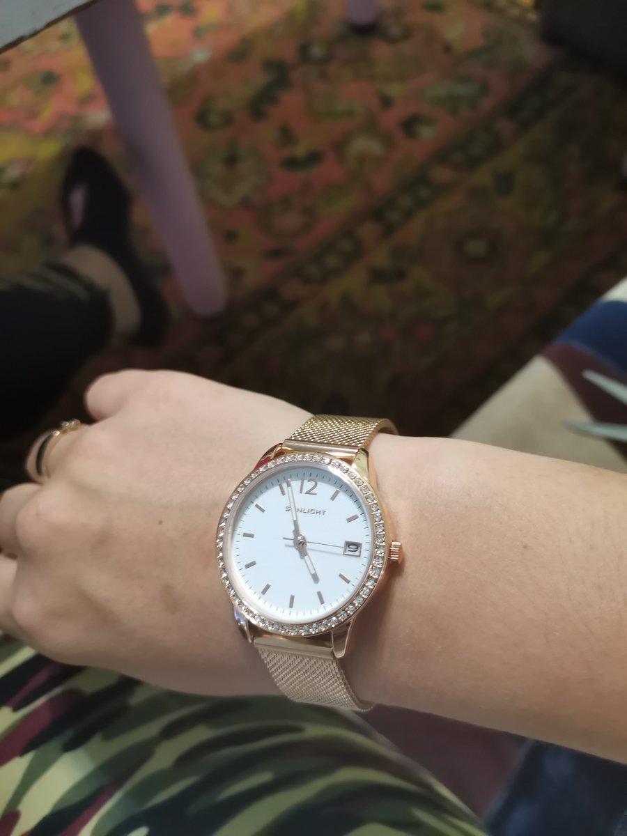 Часы как из золота
