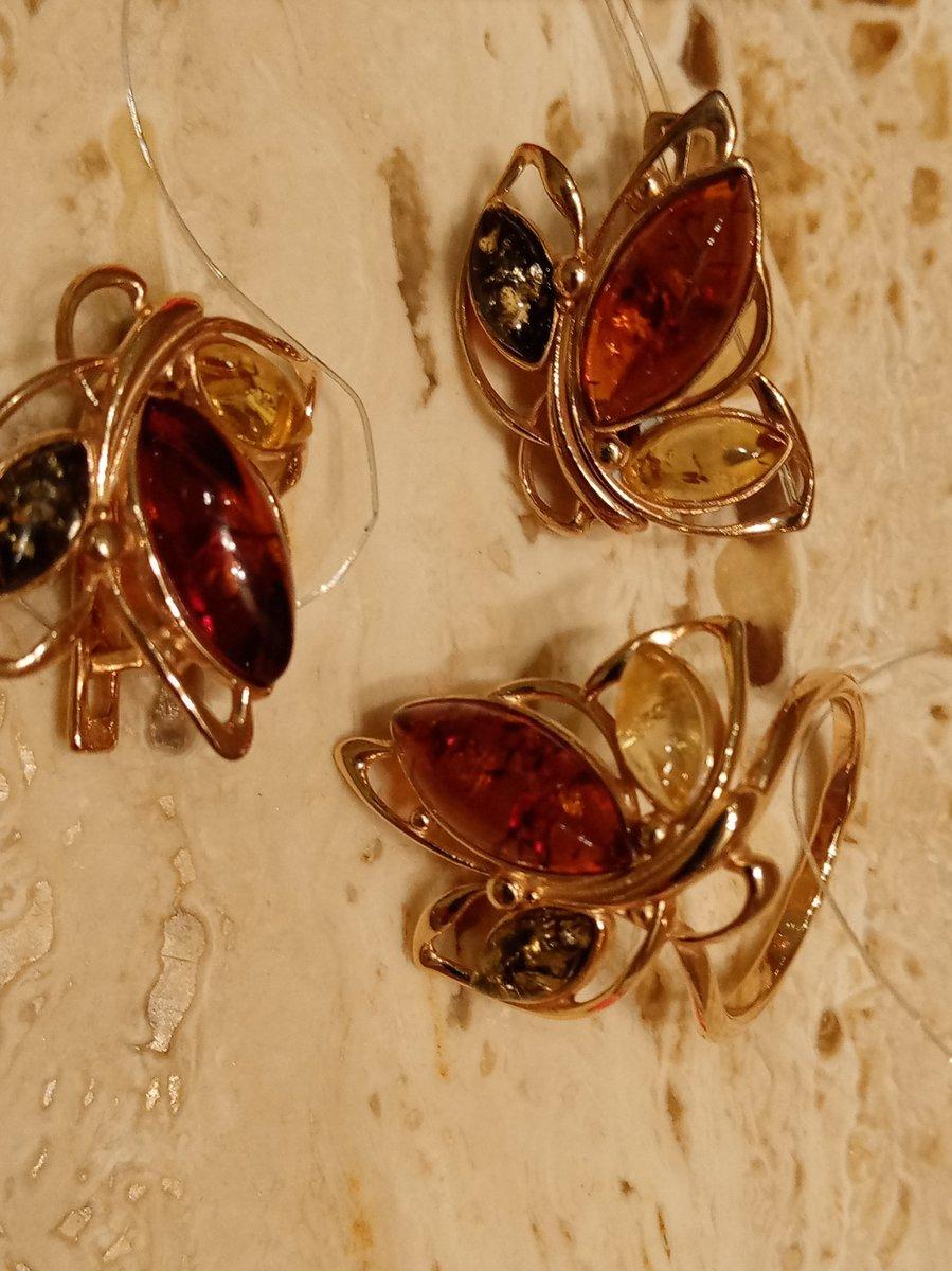 Серебряное кольцо с янтареи, талисман для львицы!