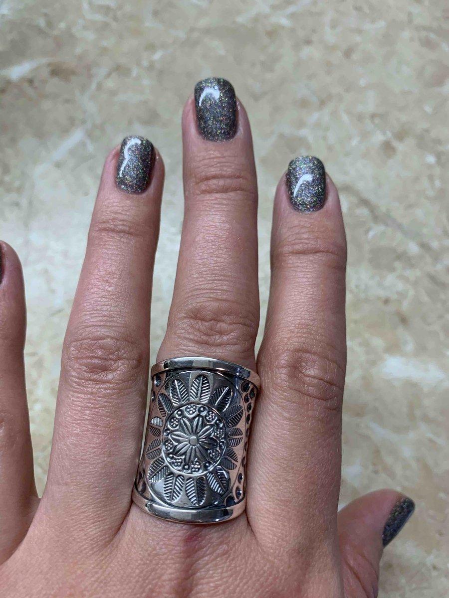 Серебряное кольцо-мечта