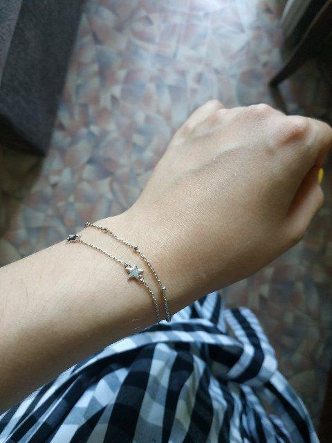 Лёгкий, красивый браслет!