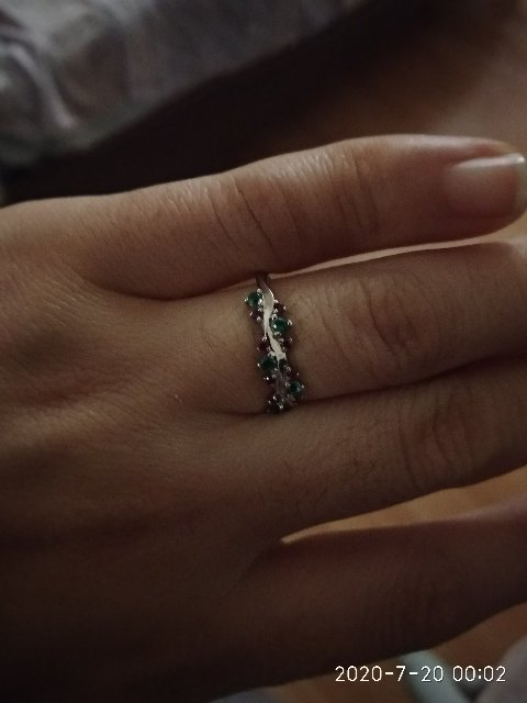 Красивая кольц