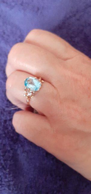 Кольцо красивое,я в восторге.Давно хотела его,не было моего размера.