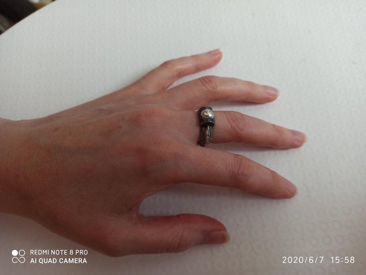Кольцо типа хендмейд