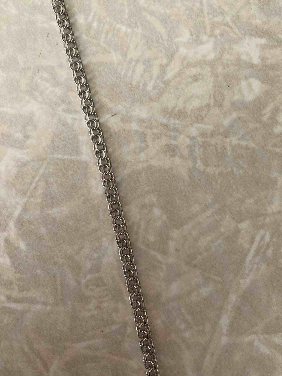 Серебряная цепочка 45 см 1290р