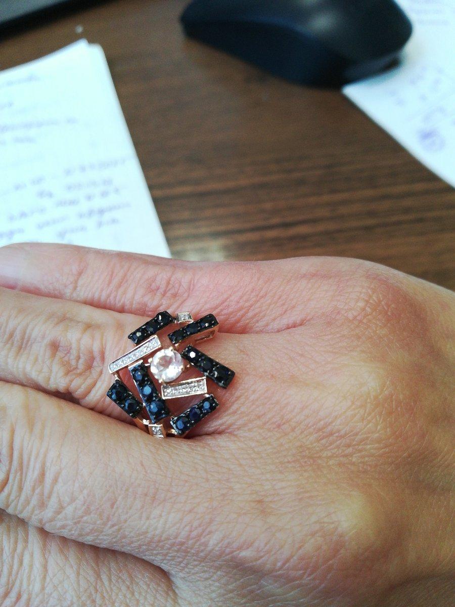 Красивое кольцо себе любимой