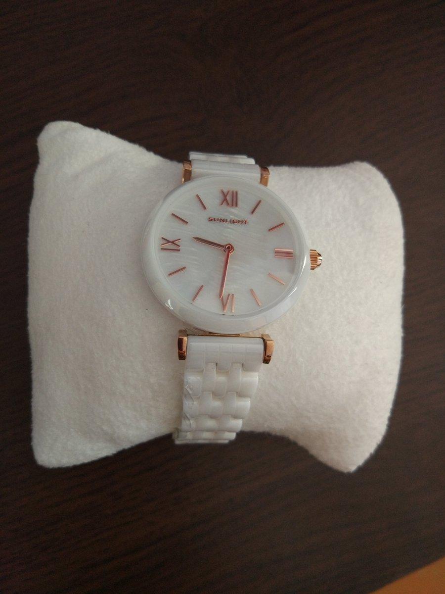 Керамические часы на керамическом браслете