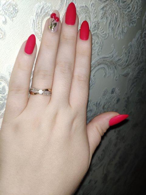 Покупали кольцо в день рождения