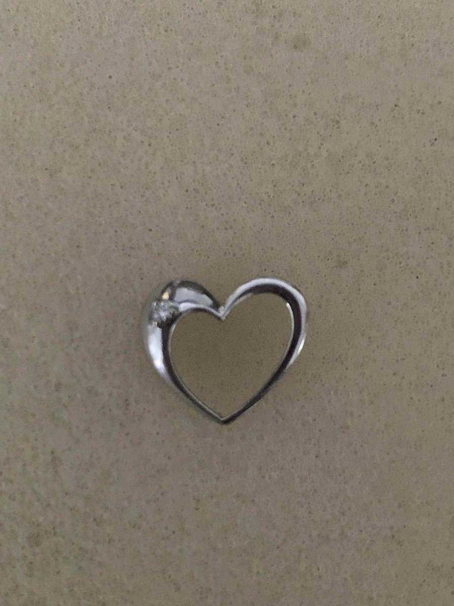 Сердечко с бриллиантиком