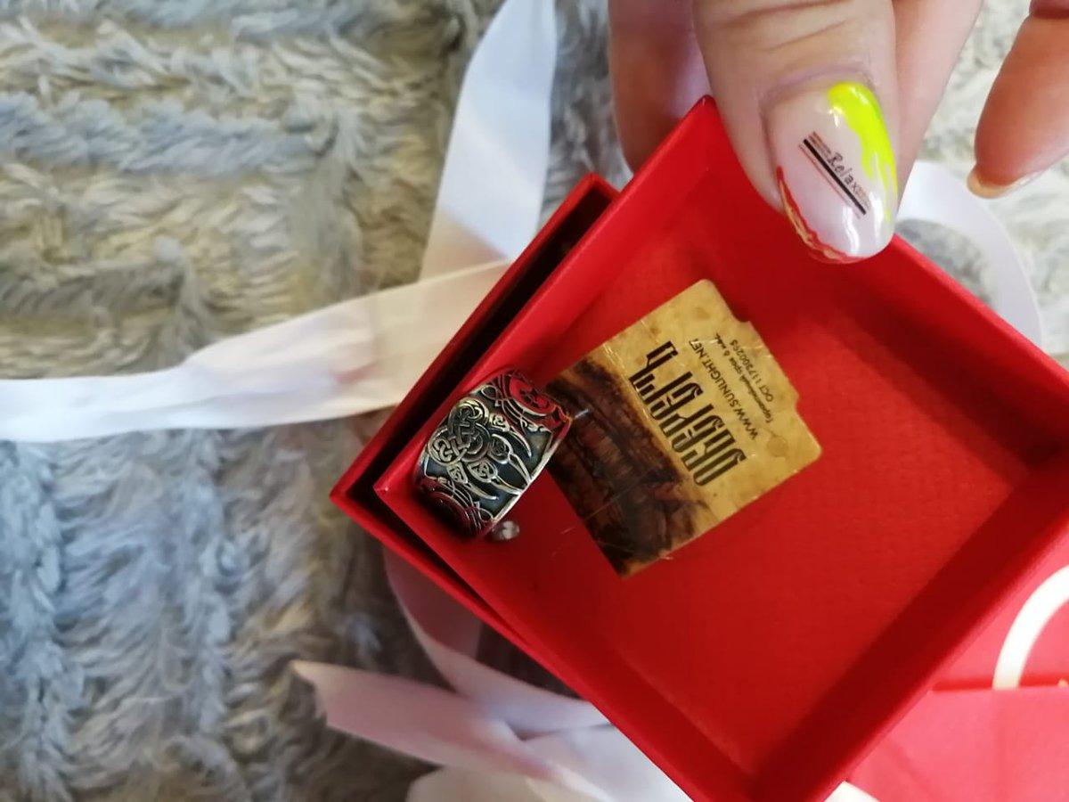 Кольцо очень красивое, мужу понравилось. Будем заказывать ещё.