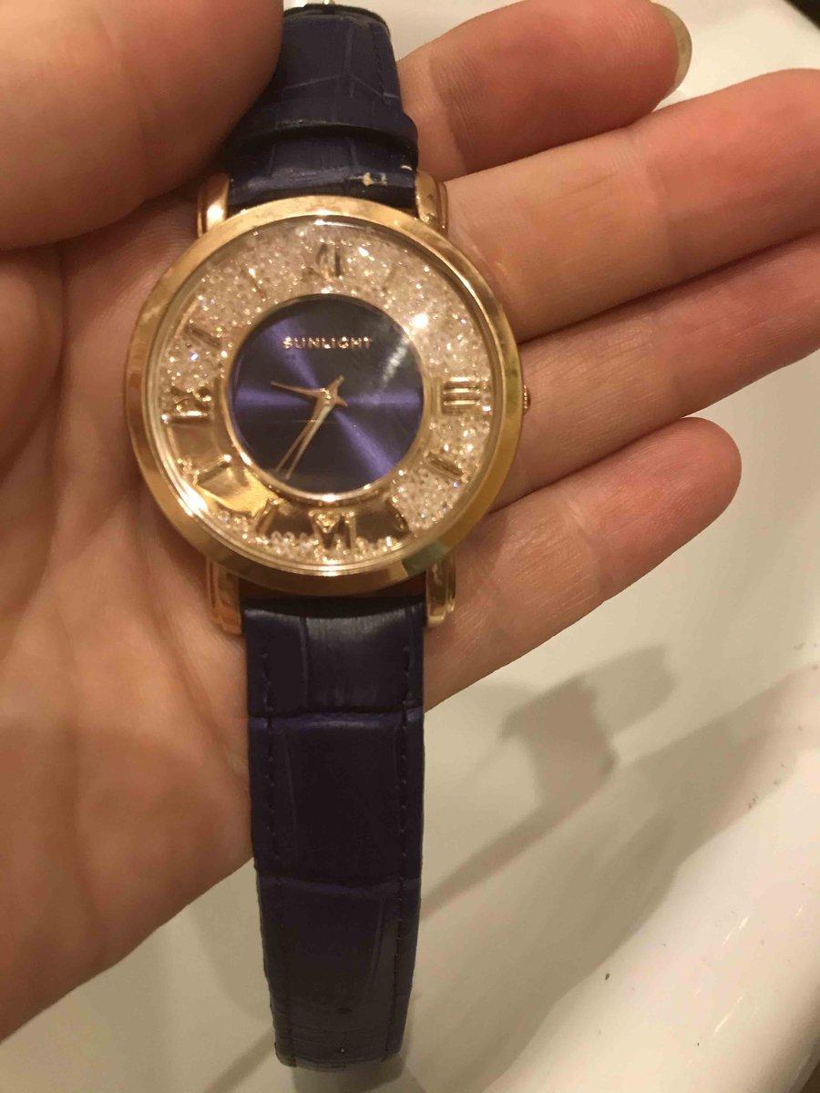Часы с кожаным ремнем