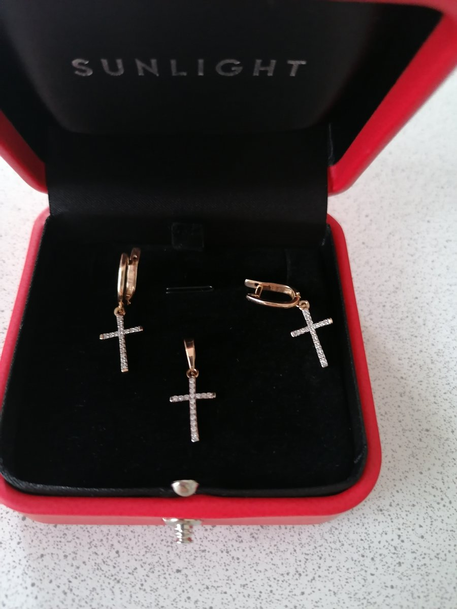 Шикарный миниатюрный крестик