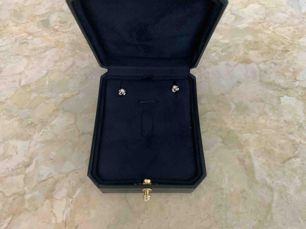 Золотые серьги « Бриллианты Якутии»