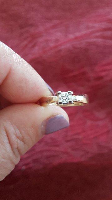 Кольцо из серии Бриллианты Якутии.