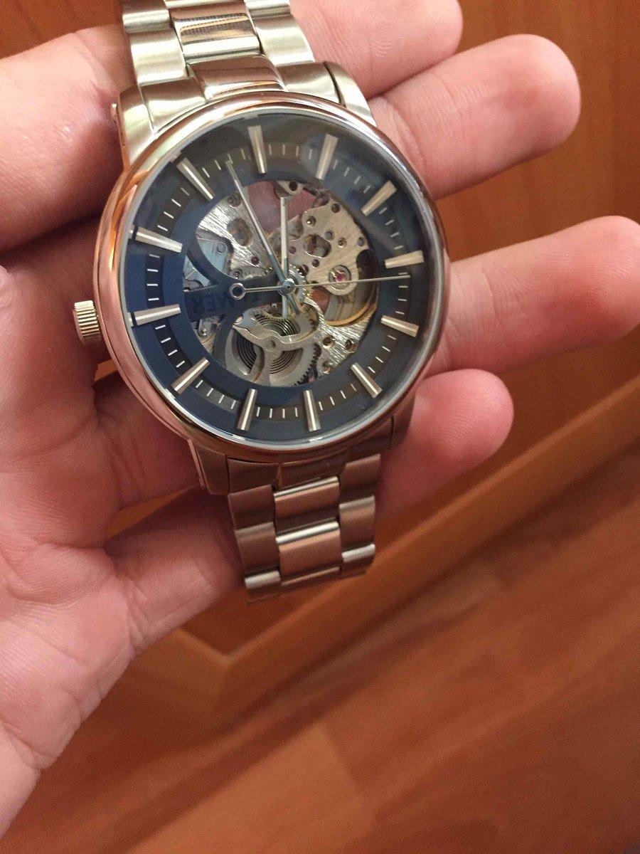 Очень стильные и удобные часы