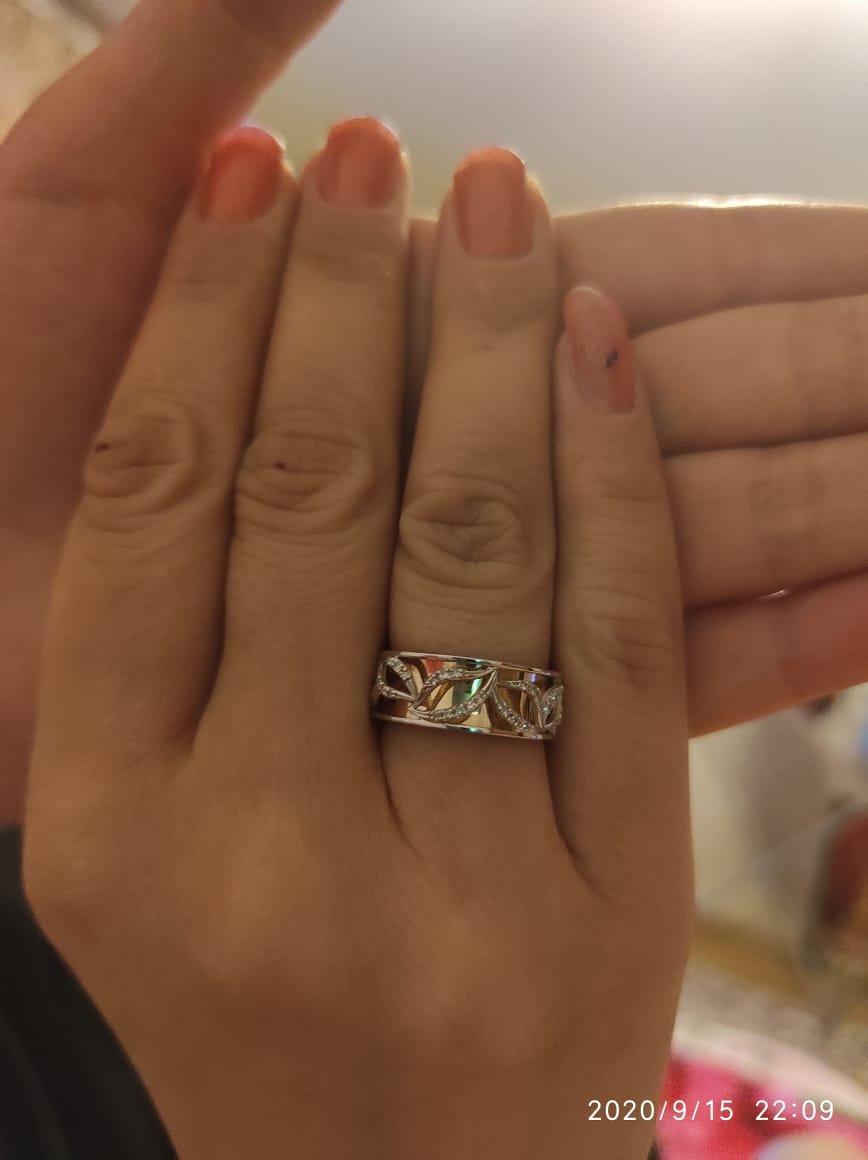 Очень красивое кольцо, приятное в носке!