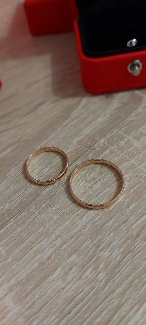 Обновили кольца на годовщину
