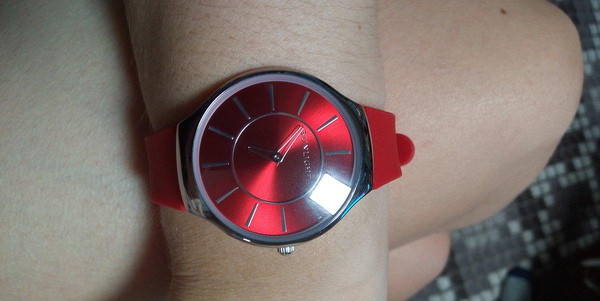 Часы с силиконовый браслетом