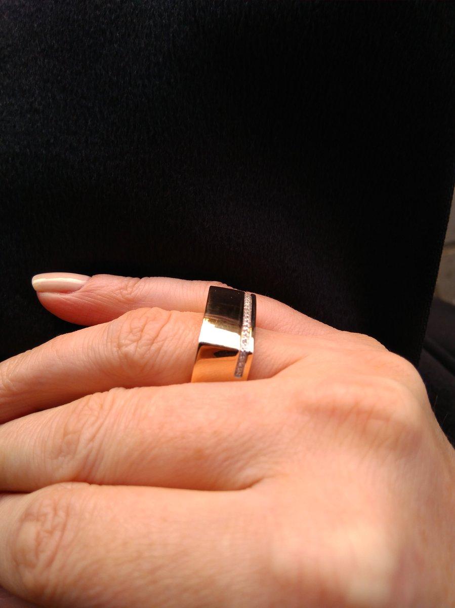 Объемное эффектное кольцо