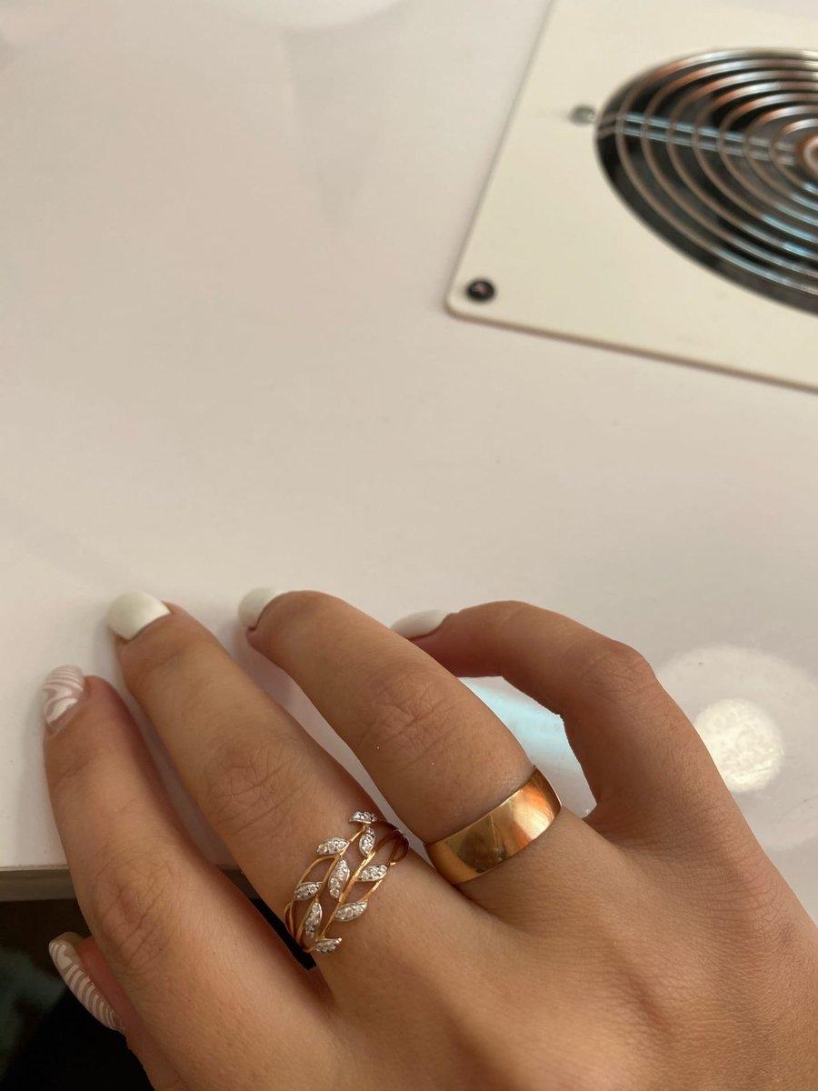 Кольцо травка