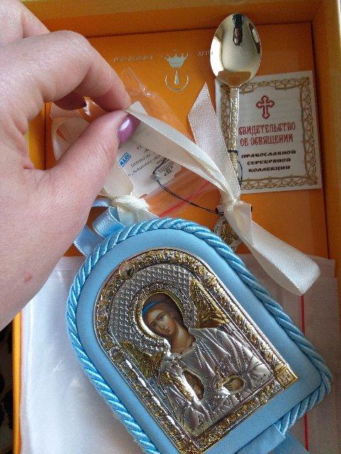 Очень достойный подарок на крестины,всем очень понравился),спасибо
