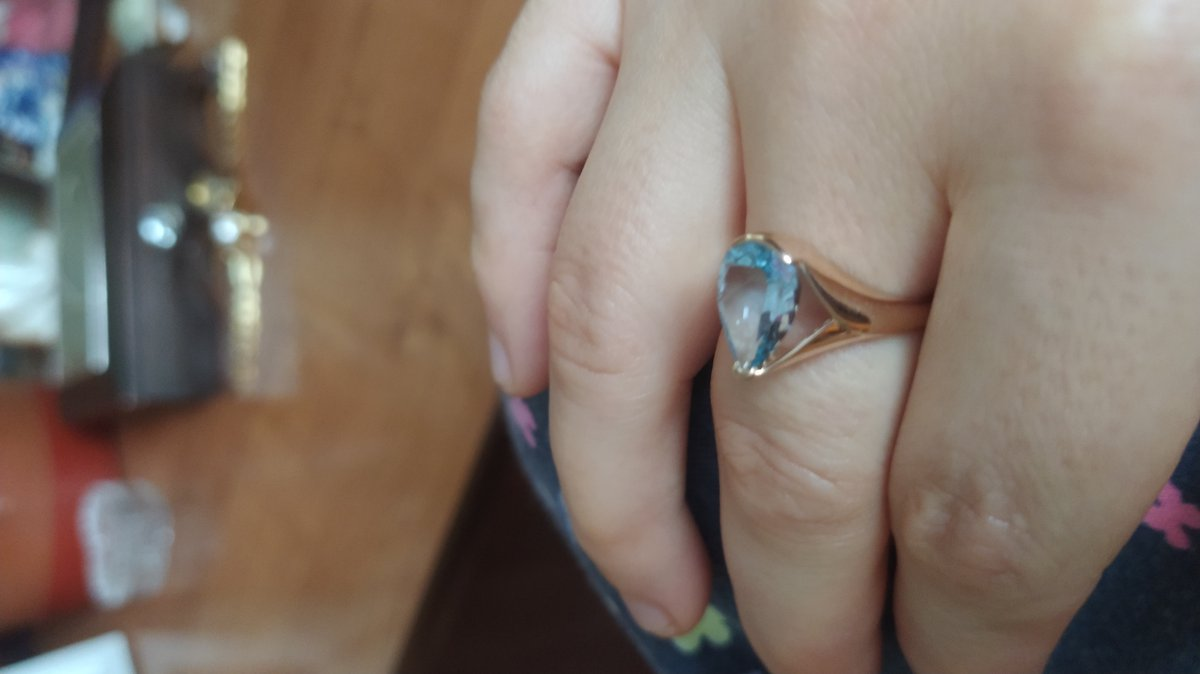 Кольцо замечательное.