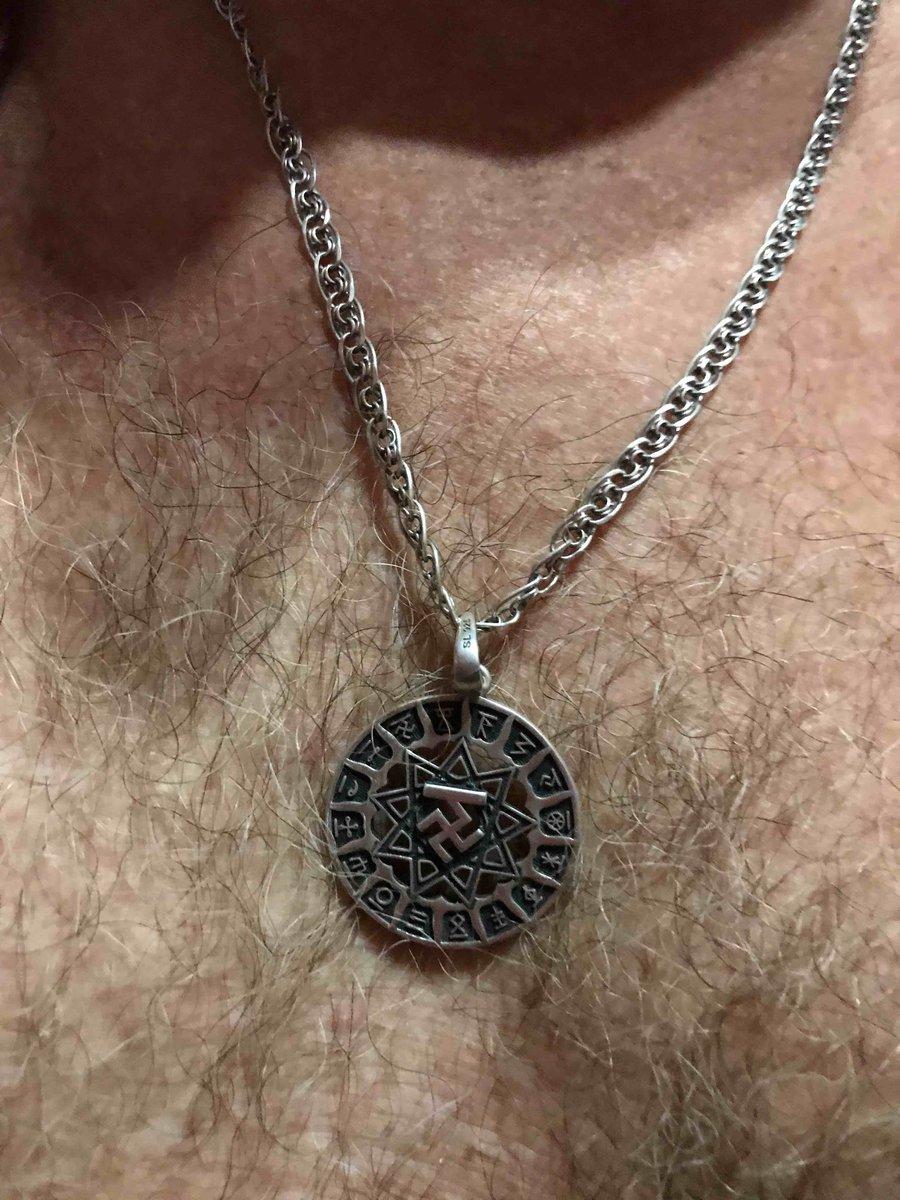 Серебряная подвеска-оберег « чертог вепря»