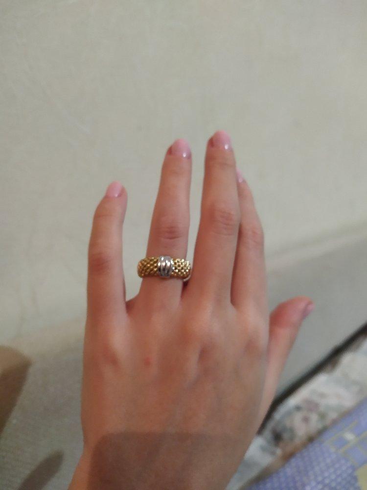 Очень зачетное кольцо.