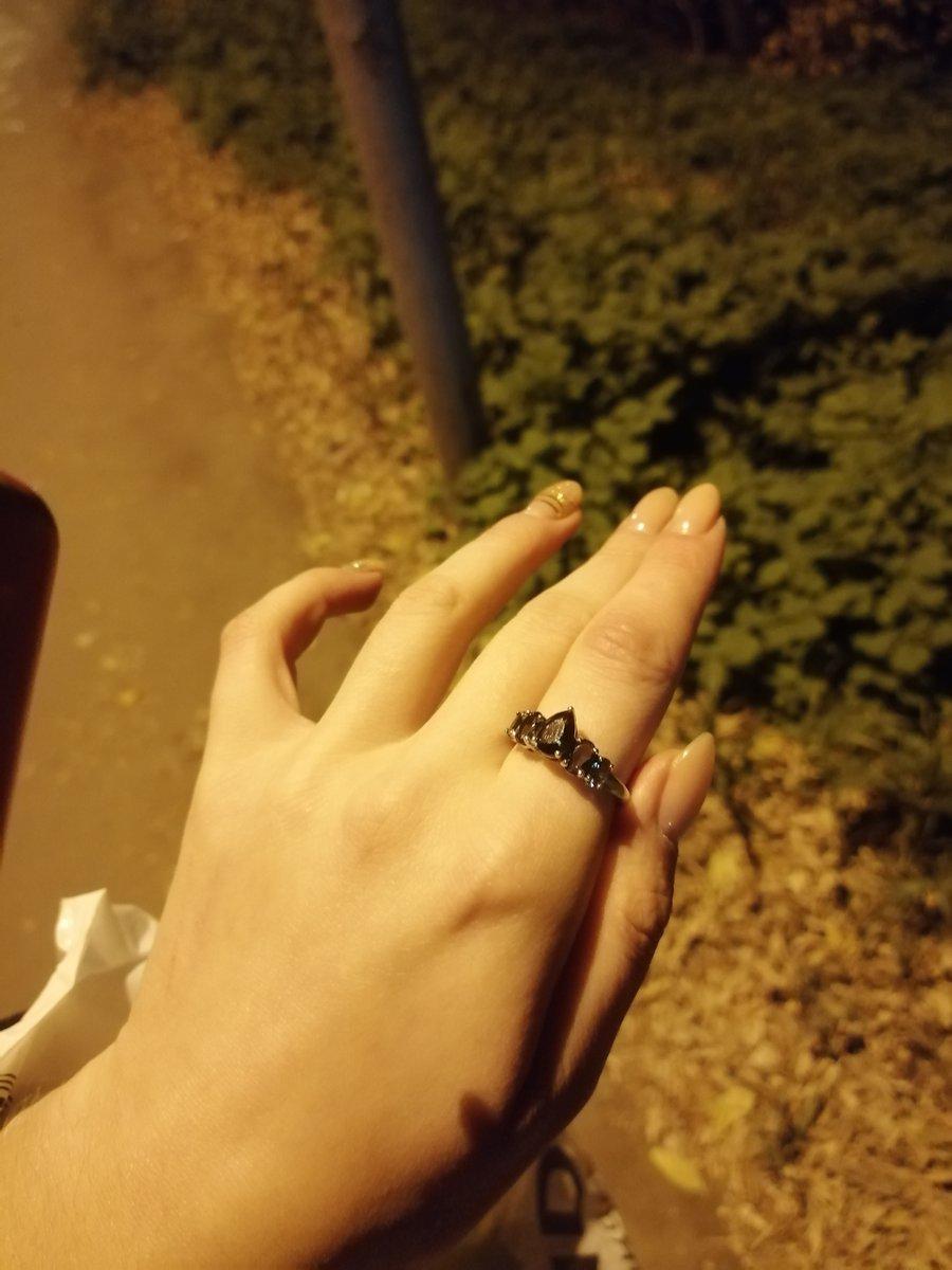 Кольцо, слегка похожее на диадему