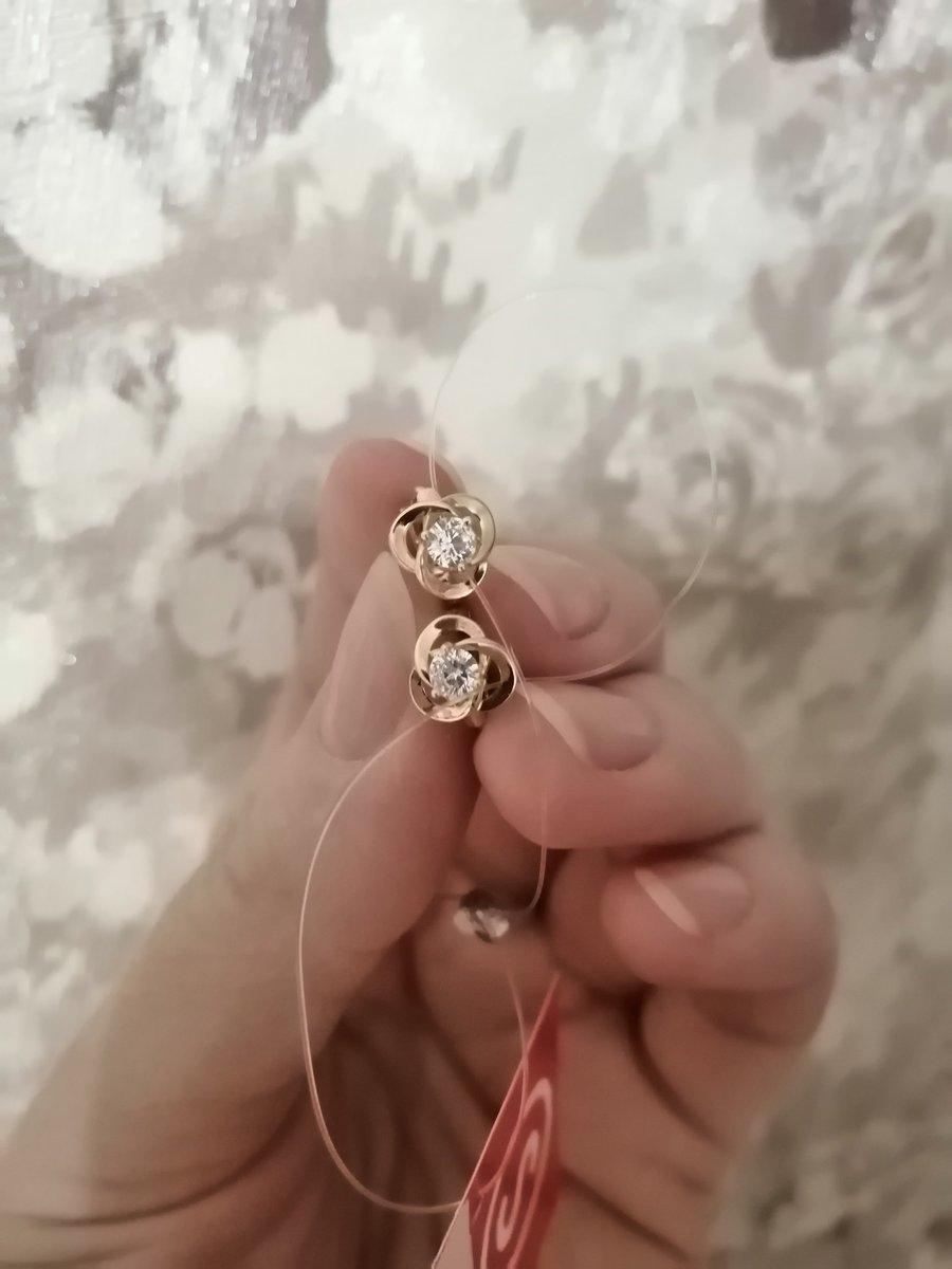 Серёжки для доченьки